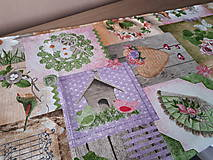 Úžitkový textil - Velkonočný stredový obrus (Jarný Vintage štýl) - 10402961_