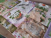 Úžitkový textil - Velkonočný stredový obrus (Jarný Vintage štýl) - 10402962_