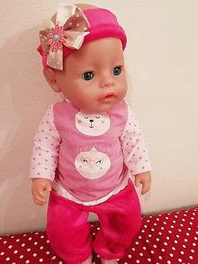 Hračky - Oblečenie pre bábiku Baby born v 43 cm - 10405220_
