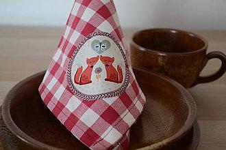 Úžitkový textil - ZERO WASTE obrúsky - 10405550_