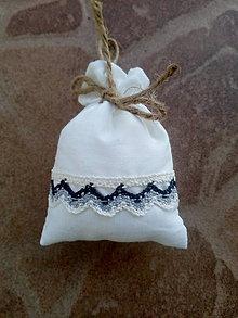 Úžitkový textil - Vrecúško na levanduľu 25 - 10404171_
