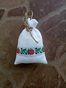 Úžitkový textil - Vrecúško na levanduľu 29 - 10404292_
