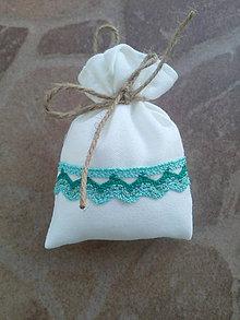 Úžitkový textil - Vrecúško na levanduľu 28 - 10404308_