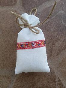 Úžitkový textil - Vrecúško na levanduľu 26 - 10404312_