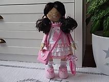 Bábiky - Ružová šibalka - 10403028_