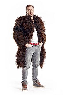 Oblečenie - Pánsky kožuch DAX - 10404890_