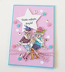 Papiernictvo - pohľadnica k narodeninám - 10402750_