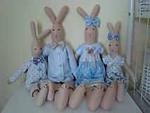 Bábiky - Zajačiky na želanie - 10404577_