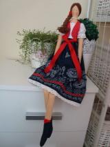 Bábiky - Bábika vo folkovom štýle - 10404615_