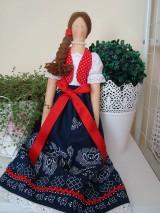 Bábiky - Bábika vo folkovom štýle - 10404616_