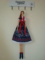 Bábiky - Bábika vo folkovom štýle - 10404617_