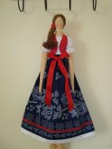 Bábiky - Bábika vo folkovom štýle - 10404618_