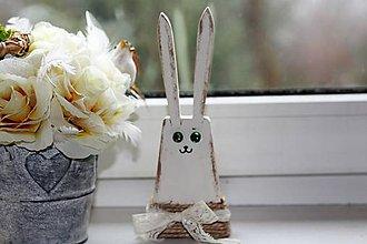 Dekorácie - Veľkonočný zajac - 10402540_