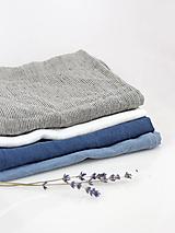 Úžitkový textil - Ľanová utierka - na želanie - 10403821_