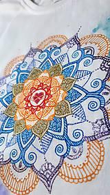 Tričká - Vo farbách čakier - 10404630_