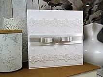 Papiernictvo - Svadobná pohľadnica - 10403106_