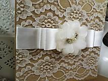 Papiernictvo - Svadobná pohľadnica - 10403142_