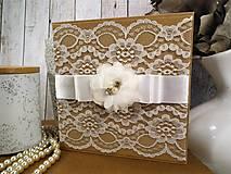 Papiernictvo - Svadobná pohľadnica - 10403145_