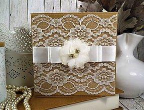 Papiernictvo - Svadobná pohľadnica - 10403140_