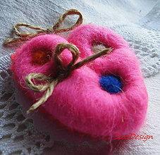 Obrázky - Love dots sladká ružová - 10402926_
