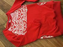 Detské oblečenie - Folklórna mikina - 10402667_