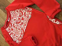 Detské oblečenie - Folklórna mikina - 10402669_