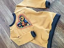 Detské oblečenie - Mikina srdiečko - 10402681_