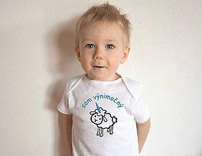 Detské oblečenie - body pre výnimočné dieťa - 10405926_