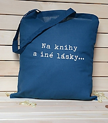 Nákupné tašky - Tašky - na knihy a iné lásky... - 10403815_
