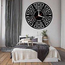 Hodiny - Nástenné hodiny moderné BOHYŇA GREKA  X0091 PLEXI PMMA - 10402330_