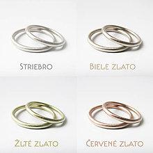 Prstene - Sme párik Modernistov :-) Obrúčky guľaté - 10404246_