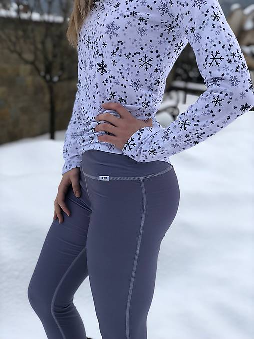Termo nohavice šedé