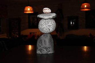 Dekorácie - Kamenná skulptúra 3 - 10404665_