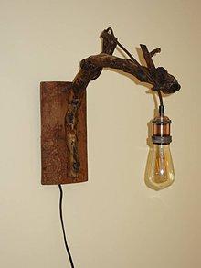 Svietidlá a sviečky - Lampa nástenná - 10404435_