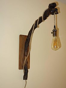 Svietidlá a sviečky - Lampa nástenná - 10404442_