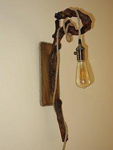 Svietidlá a sviečky - Lampa nástenná - 10404455_