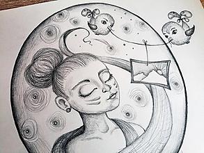Kresby - Ona a jej spomienky ... - 10402160_
