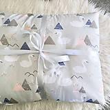 """Textil - Vankúš a Deka """"Swan"""" - 10404876_"""