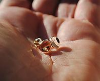 Náušnice - Ružové lievance ( Pale II.) - 10406212_
