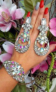 Sady šperkov - Trblietává súprava - 10407815_