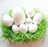 Polotovary - polystyrénové vajce - rôzne veľkosti - 10406660_