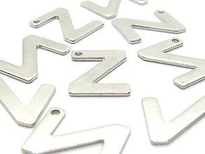 Komponenty - Písmeno Z /M8028/ - nerezová oceľ 304 - 10408345_