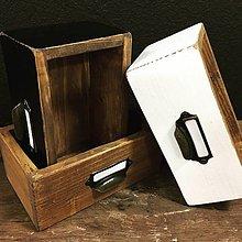 Nábytok - Šuplíček so štítkom  (Biela) - 10406949_