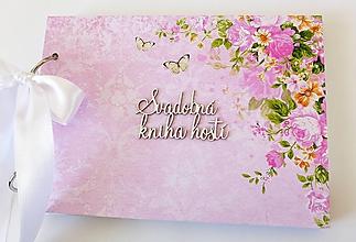 Papiernictvo - svadobná kniha hostí - 10407748_
