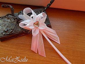 Pierka - svadobné pierko strieborné - 10407741_