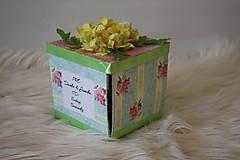Papiernictvo - Darčeková krabička na peniaze - 10407387_