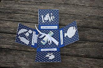 Papiernictvo - Krabička na peniaze - svadobná - 10407257_