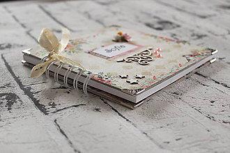 Papiernictvo - Rozprávkový pamätníček pre dievčatko - 10409641_