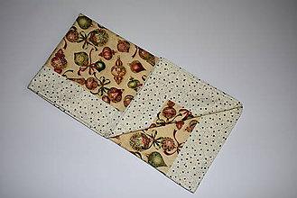Úžitkový textil - Vianočný obrus - 10407534_