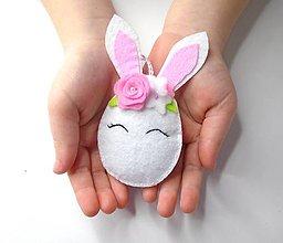 Dekorácie - Vajíčko alebo ... (zajačik 1.) - 10406553_